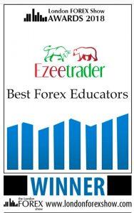 Best Forex Educators: Ezeetrader. London FOREX Show Awards 2018 certificate